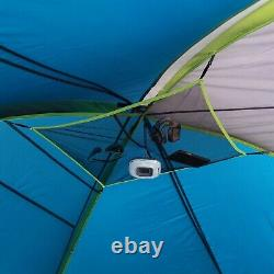 10 Person Cabin Tent Portable Instant Outdoor Camping Shelter Rainfly Family NEW