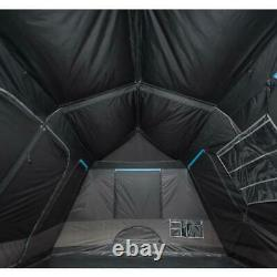 10-Person Instant Cabin Camping Tent Blackout Window Outdoor Large 2 Room 14x10