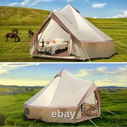 10 Person Yurt Large Tent Outdoor Waterproof Oxford Family Camping Wild Survival