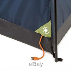 10 person Large Family Camping Tents Blue 2 Rooms Tienda De