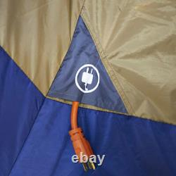 14-Person 4-Room Base Camp Tent 4 Entrances Camping Family Cabin Big Shelter New
