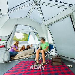 15 Person Ozark Trail Instant Cabin Tent Large Room Family Camping Shelter Teal