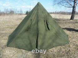 2001 Two large Polish ponchos khaki Size 2 this is a teepee tent, also in winter