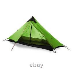 2021 New Version 230cm 3F UL GEAR Lanshan 1 Ultralight Camping 3 Season 15D Tent