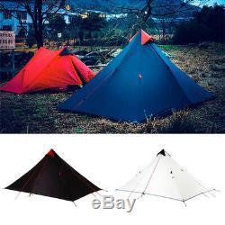 3F UL Gear 1 Person Portable Outdoor Ultralight Anti-UV Camping Tent 3 Season UK