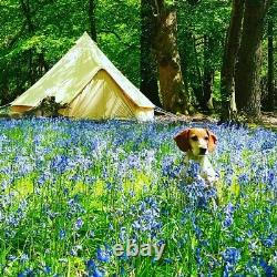 4m canvas bell tent