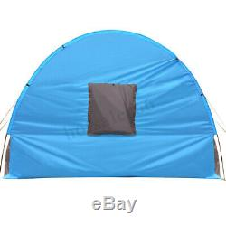 5-10 Person Use Large Outdoor Tunnel Tent Family Waterproof Mountaineering Party