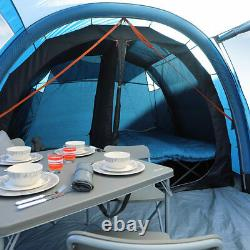 5 Person Inflatable Family Tent with 2 Rooms Vango Solaris II 500 AirBeam