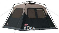 6 Man Person Instant Tent Fast Open Set Up Pitch Cabin Large Best Pop EZ-Up Easy