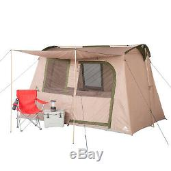 6-Person Tent With Large Front Awning Flex Ridge Ozark Trail Camping Outdoors