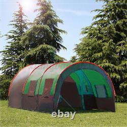 8-10 Men Family Camping Tent Waterproof Outdoor Garden Party Large Room