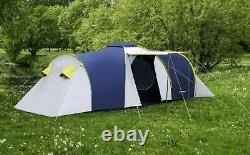 8 PERSON LARGE MODERN FAMILY WATERPROOF (3500mm) TENT