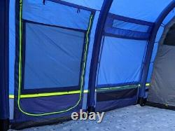 Berghaus Air 8 inflatable family tent, carpet and footprint