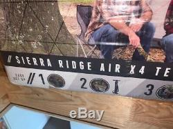 Brand New Boxed Pavillo Sierra Ridge 4 Man Air Tent