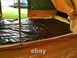 CABANON 6 BERTH CANVAS TENT WITH AWNING Excellent condition