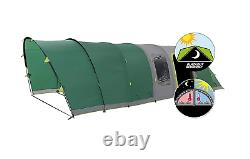 COLEMAN Valdes 6 L fastpitch blackout inflatable family camping air tent six