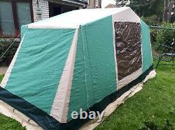 Cabanon Pacific Canvas Tent, Aluminium Frame 2 / 4 man berth