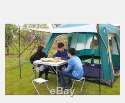 Camel Ultra Large 8-12 Person Double Layer Waterproof Camping Tent