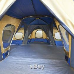 Camp Tent 14-Person 4-Room Ozark Trail Camping Gear Outdoor Sports Large Area