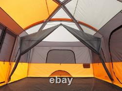 Camp Valley 12 Person People Straight Wall Cabin Tent Camping Large Family New