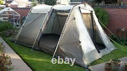 Camp bundle -Outwell Wyoming 4 Person tent, includes kampa toilet and mattress