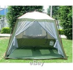 Camping Tent Big Large Living Room 5 8 Person Family Home Extra Sun Survival 4X4