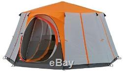 Camping Tent Cortes Octagon, 8 person Festival Tent, Large Dome Waterproof