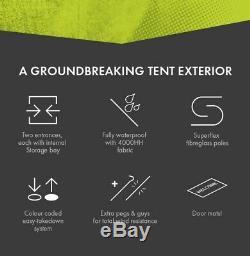 Cinch 4-man Pop-up Tent Brand New, World's Smartest Pop Up Tent
