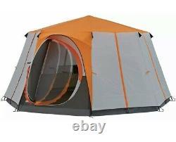 Coleman 2021 8 Man Berth Cortes Octagon Family Tent