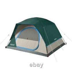 Coleman 6-Person 10 x 8 Skydome Camping Tent, Evergreen