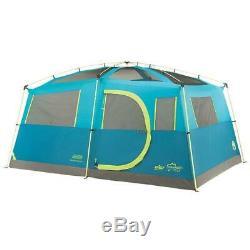 Coleman 8-Person Cabin Tent Fast Pitch + Closet Tenaya Lake Large Luxury Model