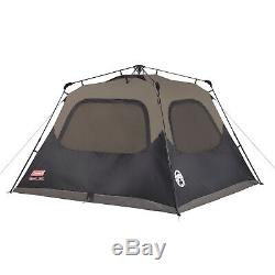 Coleman 8-Person Instant Cabin Tent Easy Set Family Camping Rain Guard Privacy