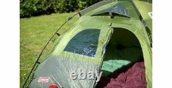 Coleman Instant Dome 5 Person Berth Festival Family Tent Garden Fishing