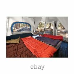 Coleman Instant Tent 8 Person Blue Outdoor Camping Sleeping Shelter 2000018296