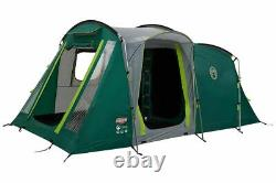 Coleman Mackenzie 4 Person Tunnel Blackout Tent Outdoors Pitch in One Camping