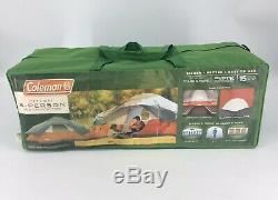 Coleman Red Canyon 8 Person 17 x 10 Foot Outdoor Camping Large Tent 2000012532