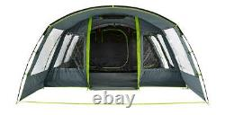 Coleman Vail Tent 6 Person Berth Large Tunnel Grey Camping Outdoors Festival