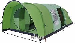 Coleman Valdes FastPitch Tent 6L Inflatable Pole Family Blackout 6 Berth Camping