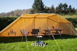 Cotton Canvas Sun/Rain Shelter Canopy Gazebo for Bell Tent Camping