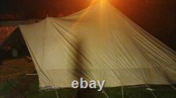 De Waard Albatros JUNIOR Dutch Canvas Pyramid Tent, 2 Wings