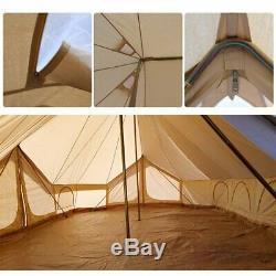 Emperor Twin Ultimate Bell Tent 6x4M Large Space 12persons Waterproof 3 Doors