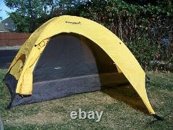 Eureka Apex XT 2 Person Tent Rain Fly Large Vestibule Yellow Black