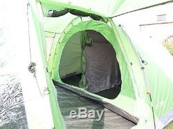Ex Display Highlander Linden Family Tunnel Tent 8 Person Large with living area