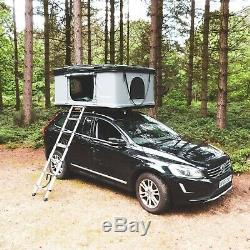 Extra Large RoofBunk Hard Shell Car Roof Top Tent Dark Grey