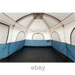 Family Cabin Tent Camping Hiking Backpacking Shelter Outdoor 2 Room Sleeps 10