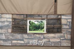 Family Cabin Tent Lights Projector Screen Large 6 8 Person Party Luxury Camping