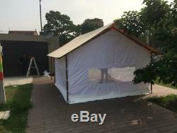 Family Canvas Tent New Waterproof 19.7x13 ft / 6x4 mt Any Color