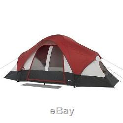 Family Multi Room Camping Tent 8-Person Waterproof Cover Outdoor Rain Sun Shade