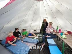 Family Tunnel Tent Awning Camping 12 Person Outdoor Tent Large Vacation Shelter