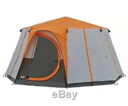 Genuine Coleman Tent Cortes Octagon, 6-8 man Festival, large Dome Camping Tent